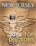 2015 Top Doctors Plaque New Jersey Monthly